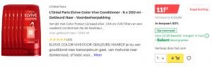Top 2 L'Oréal Paris Elvive Color Vive Conditioner - 6 x 200 ml - Gekleurd Haar - Voordeelverpakking review