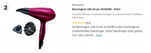 Top 2 Remington Silk Dryer AC9096 - Föhn review