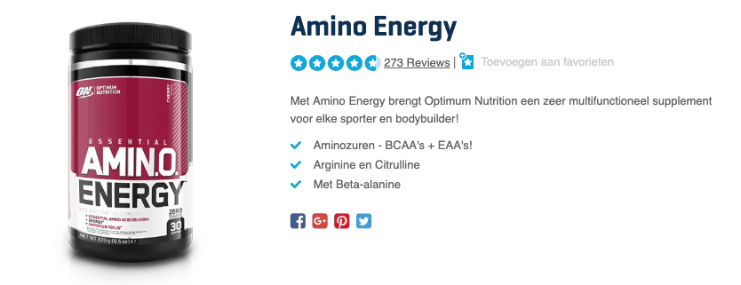 Top 3 Amino Energy reviews