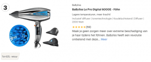 Top 3 BaByliss Le Pro Digital 6000E - Föhn review