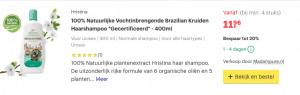 Top 4 100% Natuurlijke Vochtinbrengende Brazilian Kruiden Haarshampoo *Gecertificeerd* - 400ml review