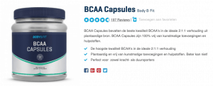 Top 4 BCAA Capsules Body & Fit review