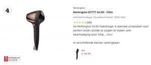 Top 4 Remington D7777 Air3D - Föhn review