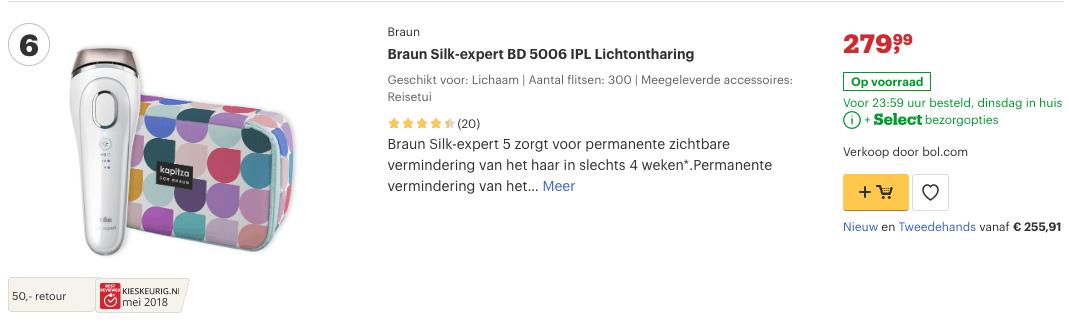 Top 5 Braun Silk-expert BD 5006 IPL Lichtontharing review