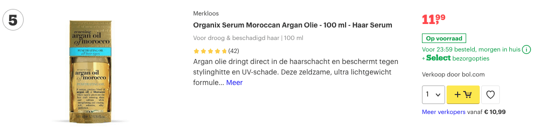 Top 5 Organix Serum Moroccan Argan Olie - 100 ml - Haar Serum review
