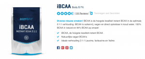 Top 5 iBCAA Body & Fit review