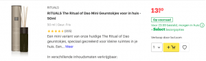 top 2 RITUALS The Ritual of Dao Mini Geurstokjes voor in huis - 50ml review
