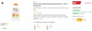 top 5 Garnier Ambre Solaire Zonnebrandcrème SPF 50+ - 200 ml - Hydraterend review