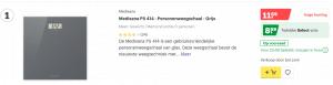 Top 1 Medisana PS 414 - Personenweegschaal - Grijs review
