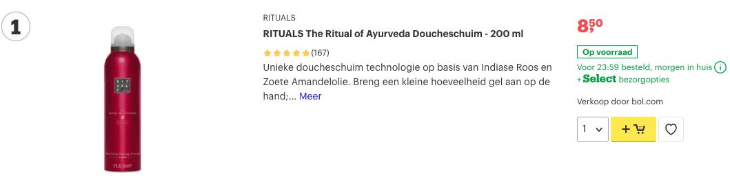 Top 1 RITUALS The Ritual of Ayurveda Doucheschuim - 200 ml review