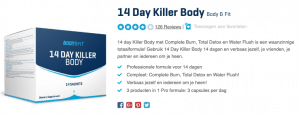 Top 2 14 Day Killer Body Body & Fit reviews detox