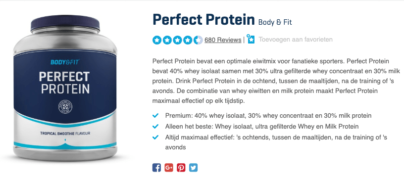 Top 2 Perfect Protein Body & Fit review