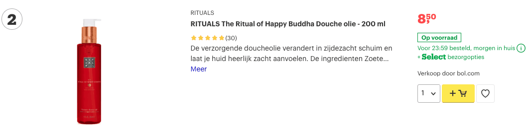 Top 2 RITUALS The Ritual of Happy Buddha Douche olie - 200 ml review