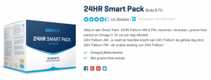 Top 3 24HR Smart Pack Body & Fit reviews