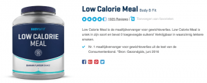 Top 3 Low Calorie Meal Body & Fit review