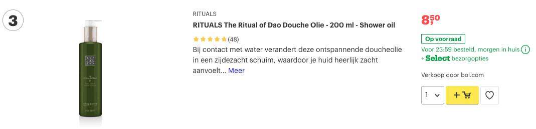 Top 3 RITUALS The Ritual of Dao Douche Olie - 200 ml - Shower oil review