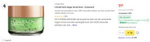 Top 4 L'Oréal Paris Sugar Scrub Kiwi - Zuiverend review