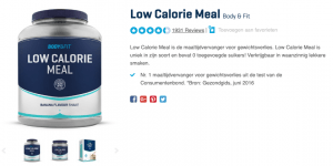 top 4 Low Calorie Meal Body & Fit reviews