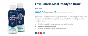Top 4 Low Calorie Meal Ready to Drink Body & Fit review