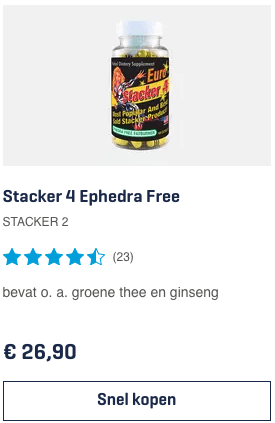 Top 4 Stacker 4 Ephedra Free STACKER 2 review