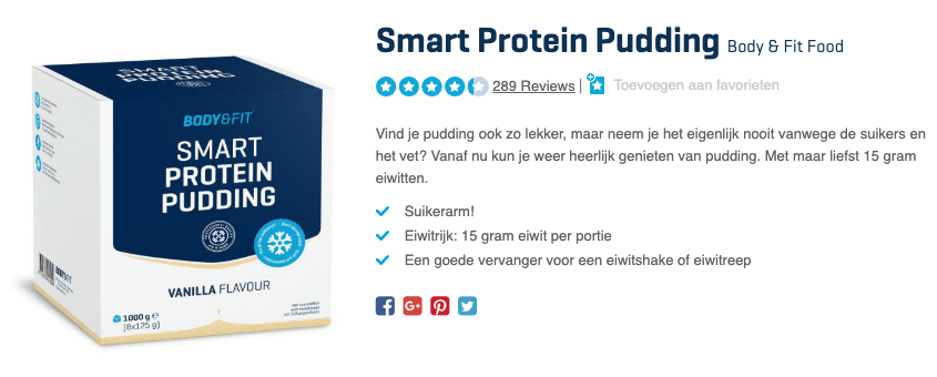 Top 5 Smart Protein Pudding Body & Fit Food reviews