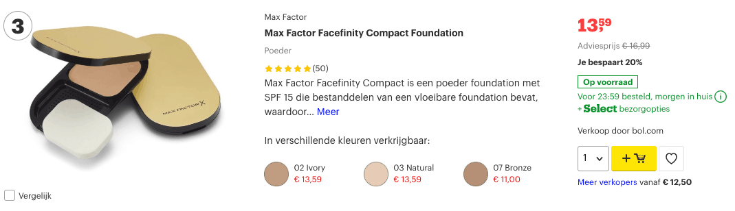 Top 3 Max Factor Facefinity Compact Foundation review