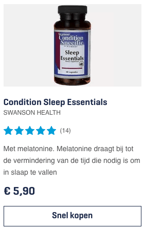 Top 3 Condition Sleep Essentials SWANSON HEALTH review