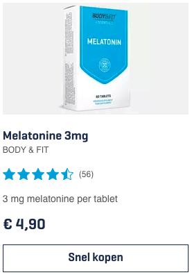 Top 4 Melatonine 3mg BODY & FIT review