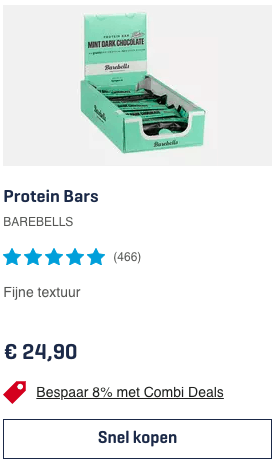 Top 5 Protein Bars BAREBELLS review