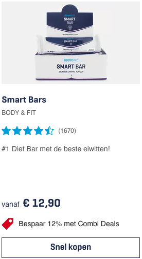 top 3 Smart Bars BODY & FIT review