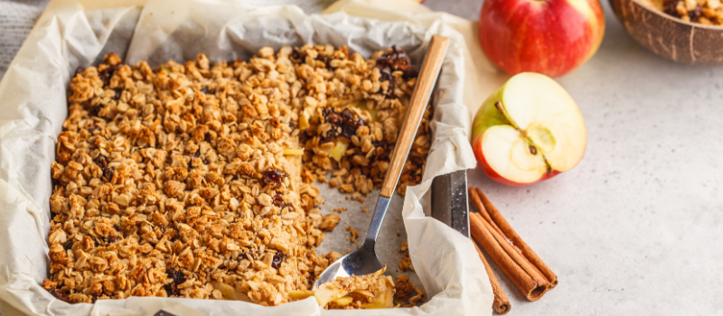 Apple crumble recept gezond