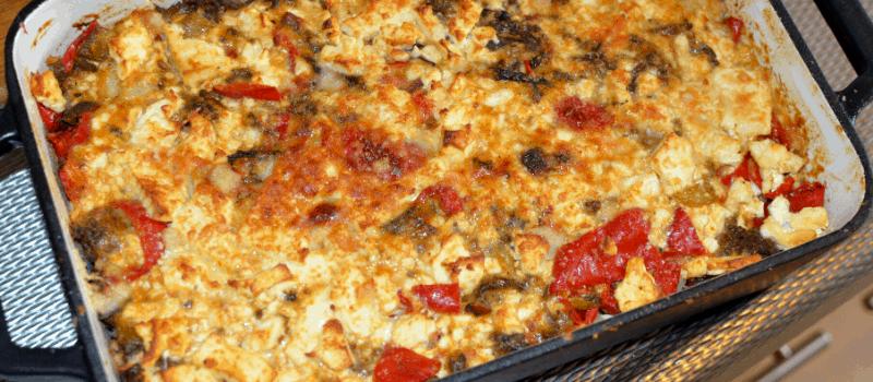 Bloemkool uit de oven met kaas