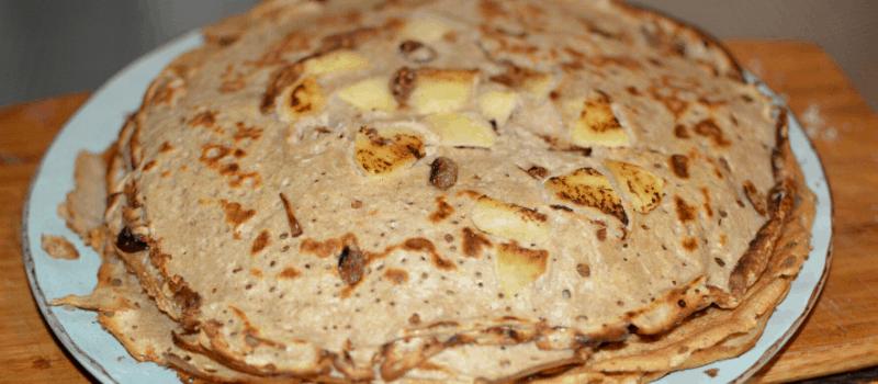 Eiwitrijke pannenkoeken maken met banaan