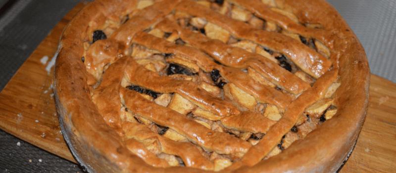 Ingrediënten voor gezonde appeltaart