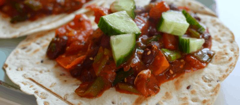 Burrito recept met kip