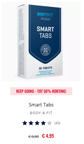 Review SMART TABS BODY & FIT