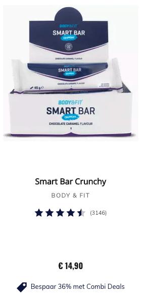 Top 1 SMART BAR CRUNCHY review