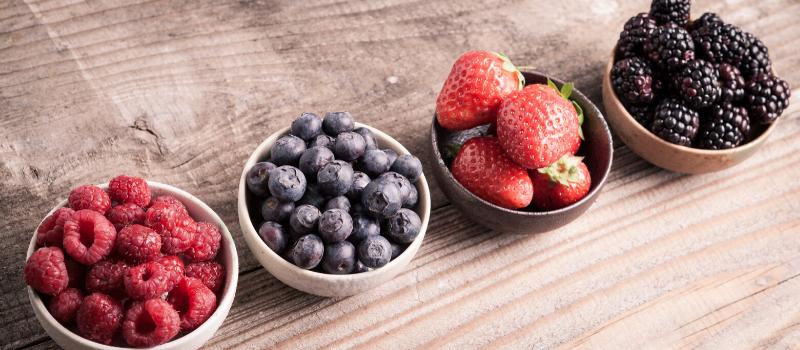 Waarom rood fruit eten