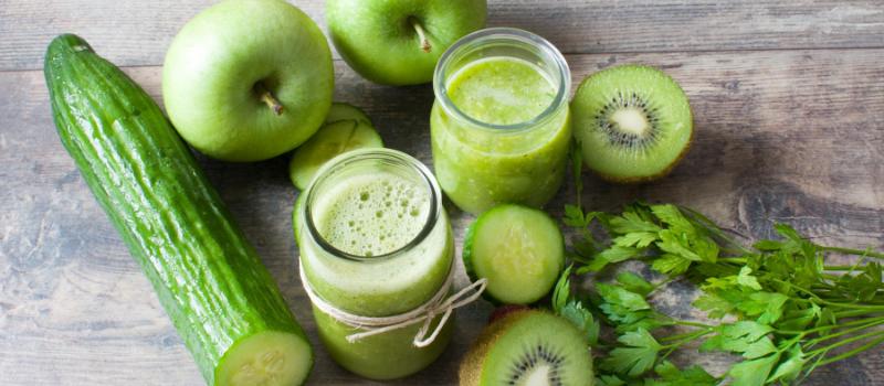 Detox smoothie van venkel komkommer en selderij