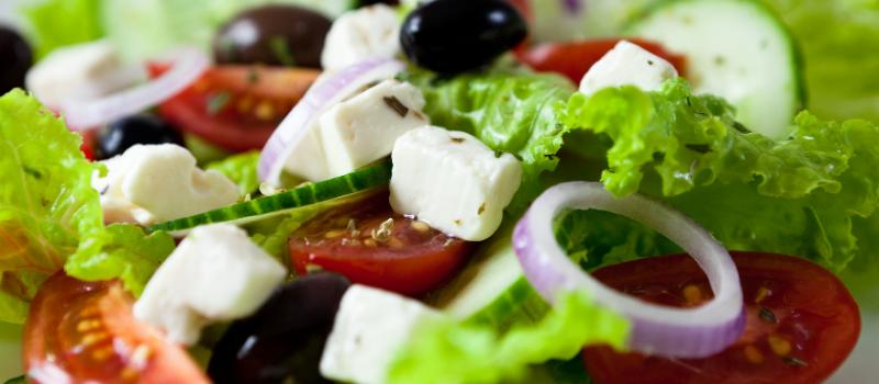Cyprus salade maken
