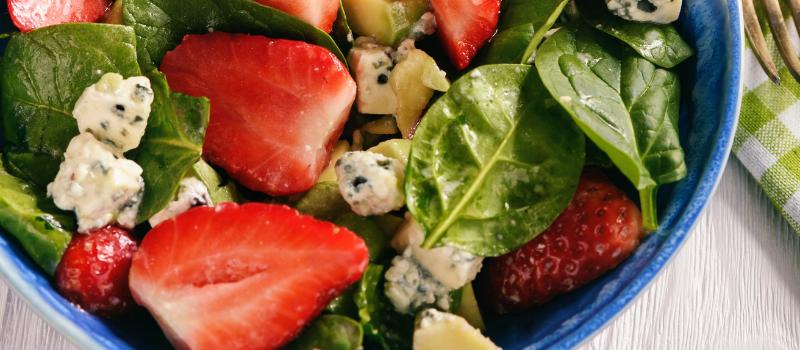 Fruitige salade maken