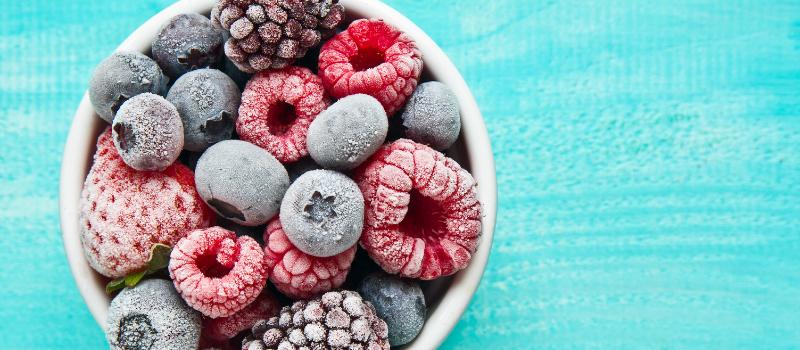 Koolhydraatarm vruchten roomijs maken