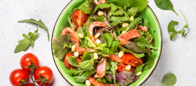 Simpele Zomerse Salade maken