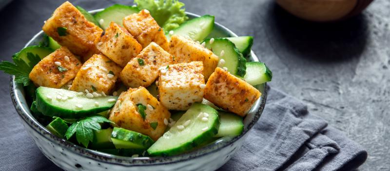 Thaise Salade met crispy tofu maken