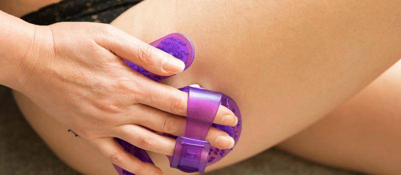 Wat is een massagehandschoen (1)