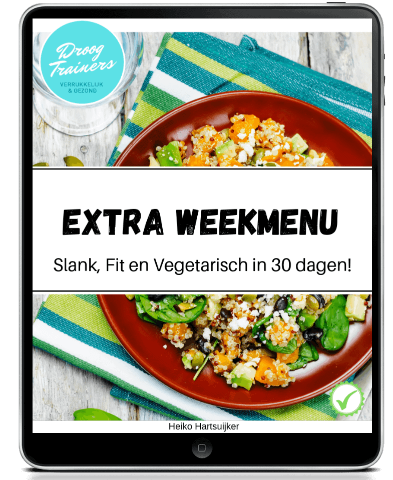 Extra weekmenu
