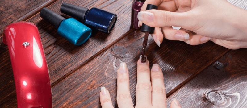 Het type nagellak dat je gebruikt