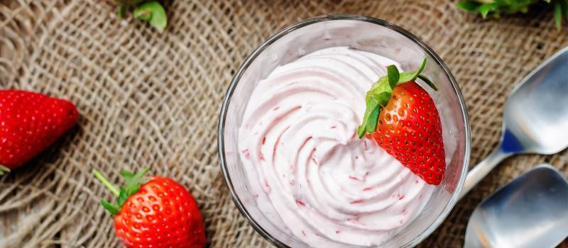 Aardbeienmousse recept