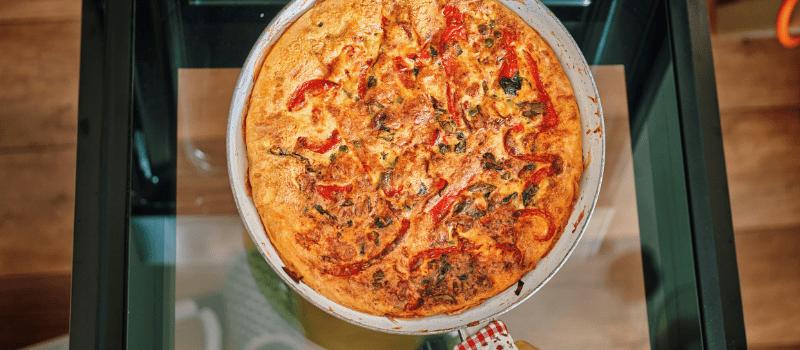 Frittata uit de oven