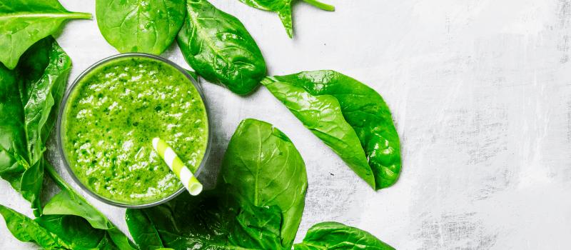 spinazie smoothie maken